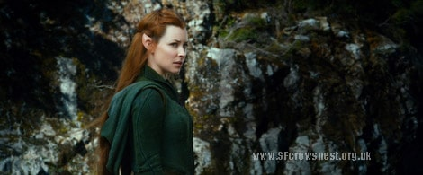EVANGELINE LILLY as Tauriel