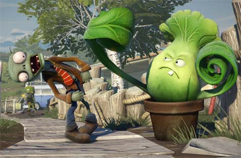Plants vs. Zombies Garden Warfare... dat garden carnage just got real.