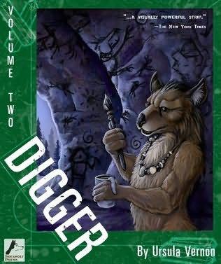 Mythopoeic Fantasy Award for Adult Literature: Ursula Vernon, Digger, vols. 1-6 (Sofawolf Press).