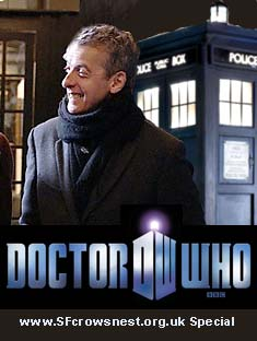 Doctor Who... all change, as Peter Capaldi steps into the TARDIS.