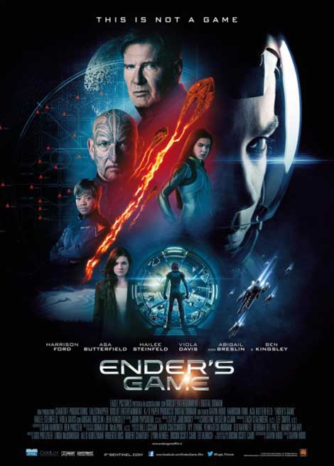 Ender's Game... see you in November.