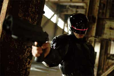 Robocop trailer... the man in the machine.