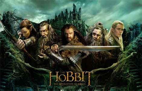 The Hobbit: Desolation of Smaug... hear the dragon's rumble.