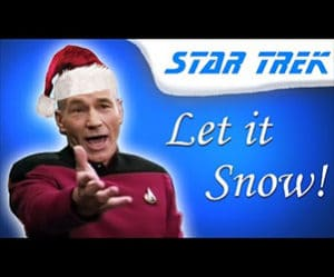 Let it snow, commands Trek's Picard (kind-of).
