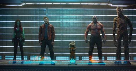 Guardians of the Galaxy - first pic of new Marvel movie.