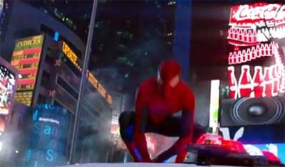 The Amazing Spider-Man 2 trailer . . . 2014 gets off with a bang.