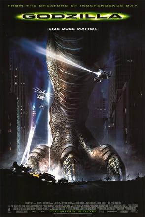 Godzilla - monster, monster.