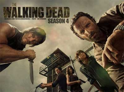 The Walking Dead, second part of Season 4... die die die.