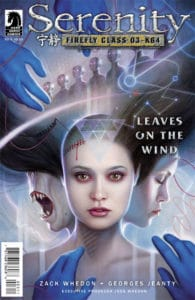 Serenity: Leaves on the Wind #3 (Dos Santos cover)