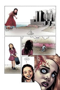 Here's a hint from River's dream. (Picture courtesy of Dark Horse)