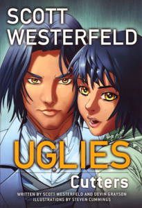 UGLIES: Cutters, created by Scott Westerfield (Graphic novel review).