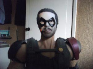 Comedian-masked