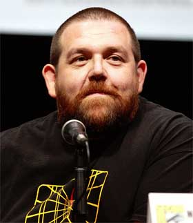 Nick Frost by Gage Skidmore 2CC BY-SA 3.0