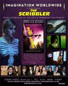 The Scribbler (2014) (film review) (Mark's take).