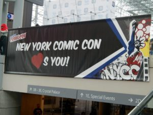 NYCC 14. Photo courtesy of Evelina Sturzeneker