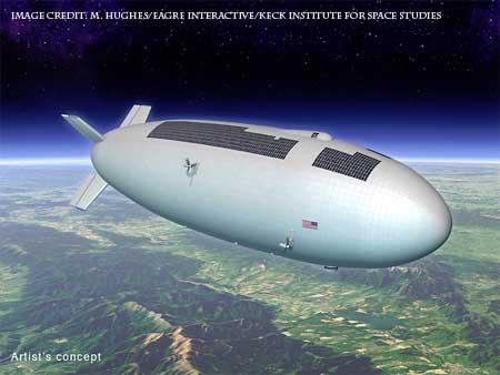Airship fun.