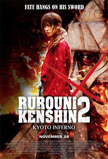 Rurouni Kenshin 2: Kyoto Inferno trailer.