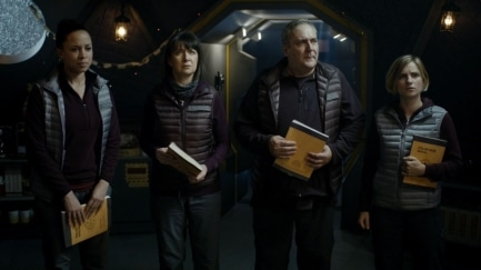 Doctor Who Last Christmas.Doctor Who Last Christmas By John Rivers Tv Review