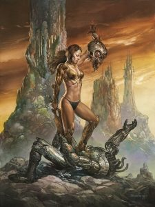 Dreamland published by Pavilion Books © Boris Vallejo 2015