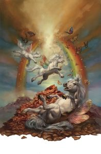 Dreamland published by Pavilion Books © Boris Vallejo & Julie Bell 2015