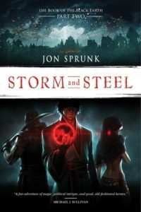 Storm and Steel by Jon Sprunk (book review)