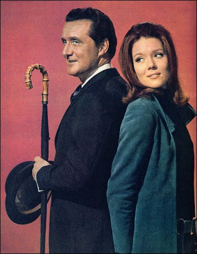 Avengers actor Patrick Macnee - R.I.P (sadly).