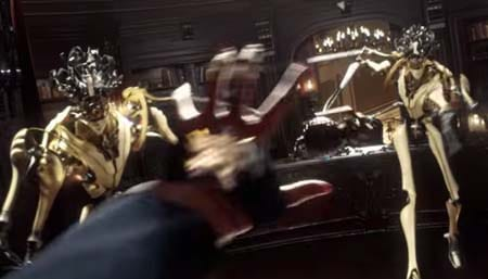 Dishonored 2 game trailer . . . steampunk redux.
