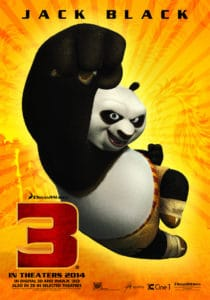 Kung Fu Panda 3 movie trailer.