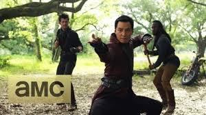 Into the Badlands (fantasy post-apocalypse TV series).