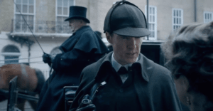 Sherlock Christmas special 2015 first trailer.