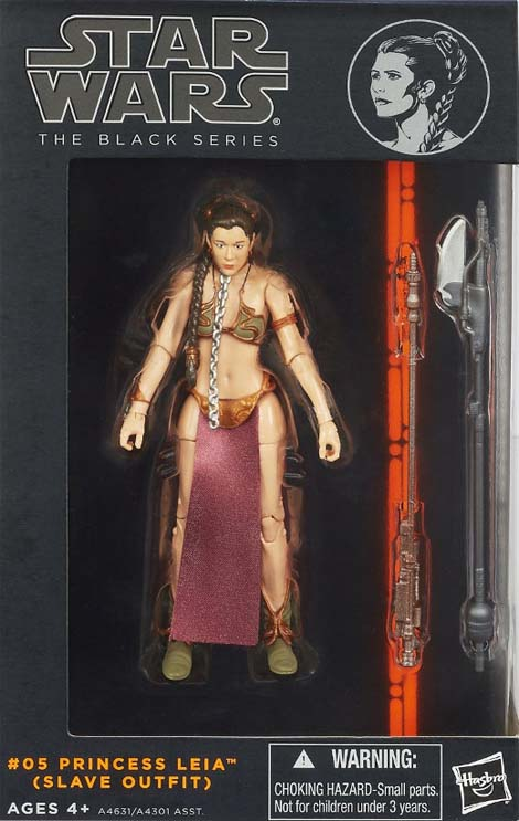 Princess Leia Slave Outfit action figure outrage.