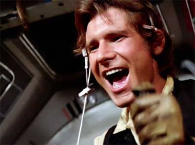 Han Solo ... very solo, with new standalone young Han Solo movie.