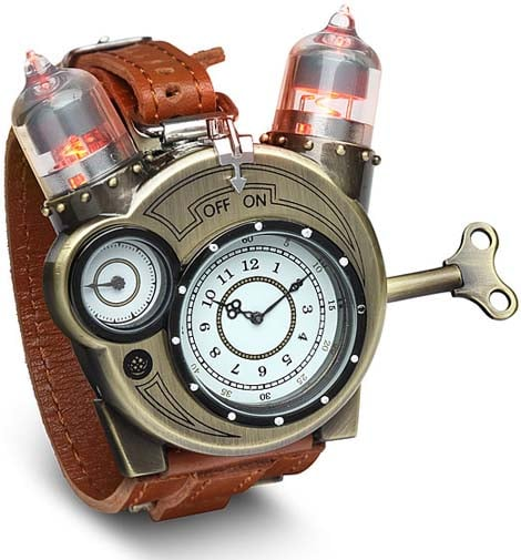 Would you wear the steampunk Tesla Watch?