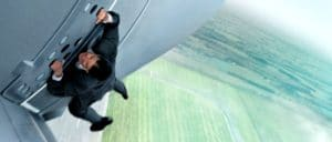 Cruise's Agent Ethan Hunt is leaving on a jet plane and doesn't know how long he'll be back again in the eye-popping actioner MISSION: IMPOSSIBLE-ROGUE NATION.