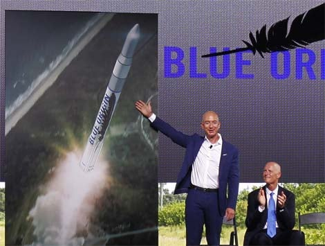 Beyond books: Jeff Bezos invests millions in new spacecraft factory.
