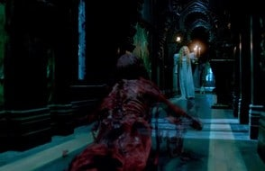 Take your pick: Trick or Treat or ghostly severed feet happening at CRIMSON PEAK