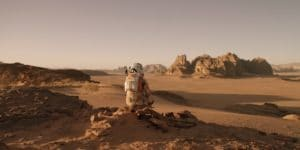Okay...so it is not as scenic as Yellowstone National Park but the rocky region in THE MARTIAN still has some unassuming charm, right?