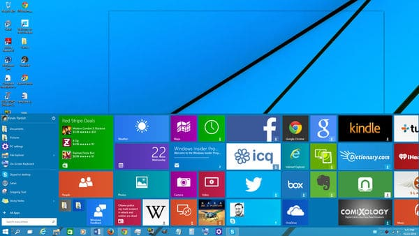 Further Thoughts on Windows 10 by Dennis McCunney (article).