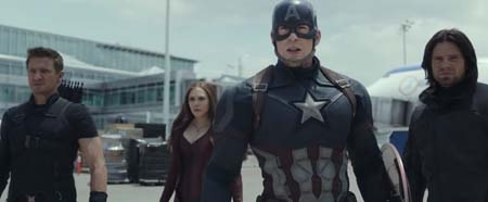 Captain America: Civil War featurette (video).