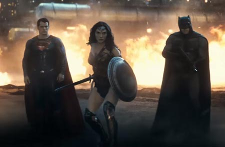 Batman v Superman: Dawn of Justice featurette.