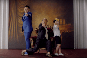 Psy rocks it Daddy-style (because Gangnam wasn't enough).