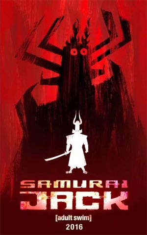 Samurai Jack swings back on TV for 2016.