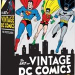 The Art Of Vintage DC Comics: 75th Anniversary Edition   (postcards review)