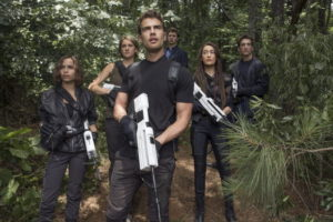 "In the world of ALLEGIANT, these polished pretty people are the post-apocalytic ""rebels with a cause""."