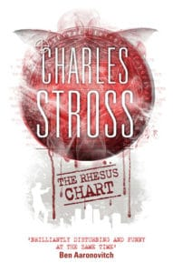 The Rhesus Chart (A Laundry Files novel) by Charles Stross.