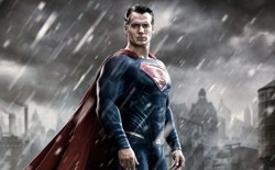 Cavell's Man of Steel strikes a pose for JUSTICE in the feisty yet fledgling BATMAN V SUPERMAN