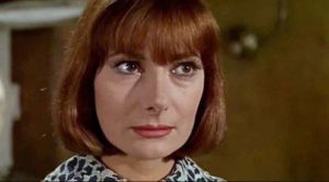 The real Rossella Falk in the 1966 film 'Modesty Blaise'
