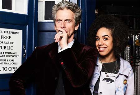 Doctor Who: Pearl Mackie in the TARDIS as new companion.