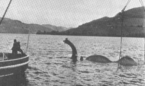 This is the one in Loch Ness before its buoyancy humps were removed.