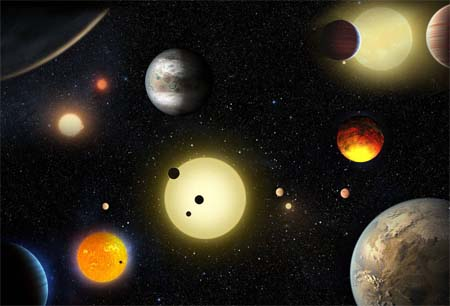 Thousand plus new planets found by NASA.